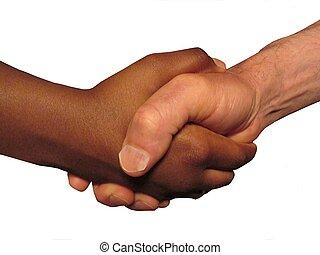 handshake - isolated handshake