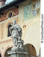 Vigevano: Piazza Ducale - Vigevano (Pavia, Lombardy, Italy):...