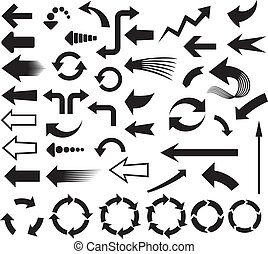 arrows icons arrows icons set