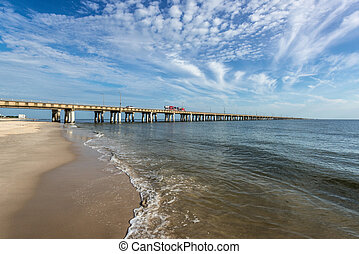 Chesapeake Bay Bridge - A view of the Chesapeake Bay Bridge...