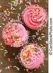 Cor-de-rosa, Cupcakes