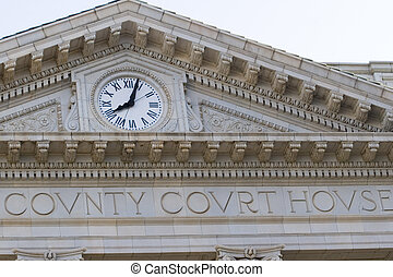 County Courthouse Clock