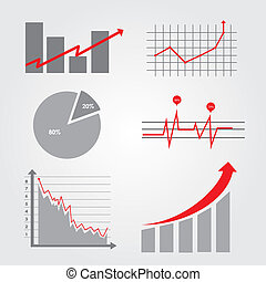 infographics icons over gray background vector illustration