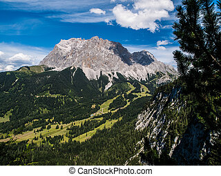 Zugspitze - the highest mountain in Germany