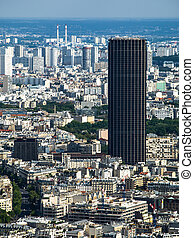 Montparnasse Tower in Paris France