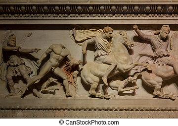 sarcófago,  Alexander