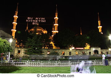 Sultan Ahmed Blue Mosque, Istanbul