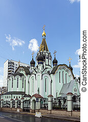 Church of the Resurrection of Christ in Sokolniki, Moscow -...