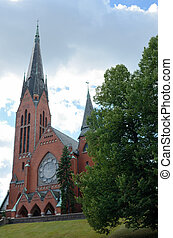 Michaels church, Turku, Finland - Michaels church - a...