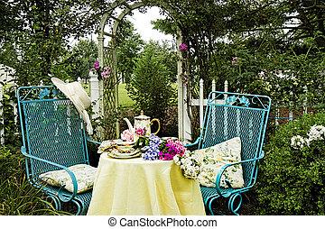 Quaint and Cottage Tea Garden
