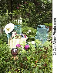 Charming Garden Tea