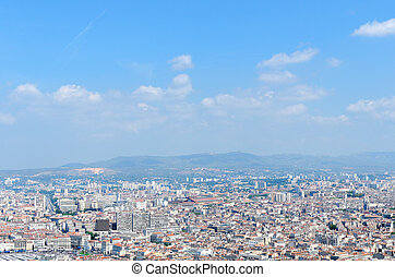 Marseille - the town of Marseiile in the souhern of france