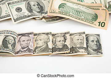 Every denomination of U.S. currency