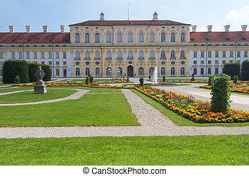 bdquo;Schleissheimldquo; Castle west side near Munich,...