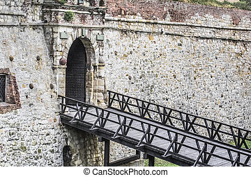 Photograph of The Watch Tower Gate at the medieval...