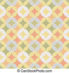 abstract retro geometric seamless pattern