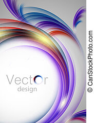 vertical vector colorful background