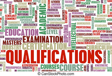 Qualifications in Business and Education as Art