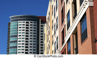 LowRise HighRise Condos - A lowrise and high rise...