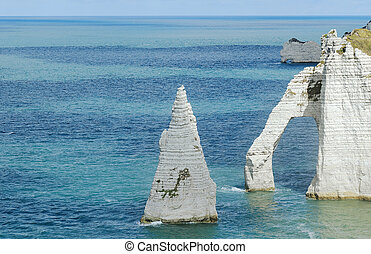 Etretat - The french Normandy coast