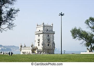 Tower of Belem (Torre de Belem), Lisbon, Portugal
