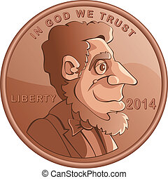 penny - Lincoln penny