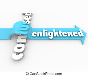 Enlightened Arrow Vs Confusion Enlightenment in Life - The...