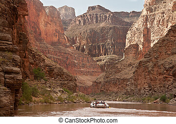 Grand Canyon - White water rafting the Grand Canyon