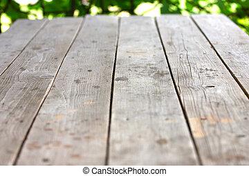 Drewniany, platforma