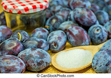 plums for jelly