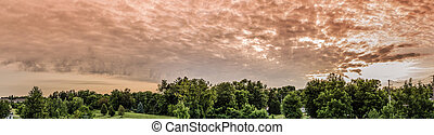big sky - a photo of a landscape