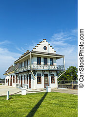 historic Plaquemine Lockhouse - famous historic Plaquemine...