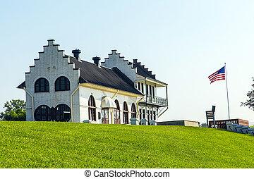 historic Plaquemine Lockhouse - famous historic Plaquemine...