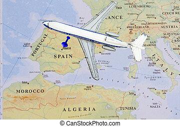 Destination Madid ,Spain