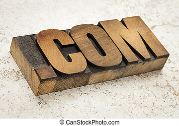 dot com internet domain - dot com - commercial internet...