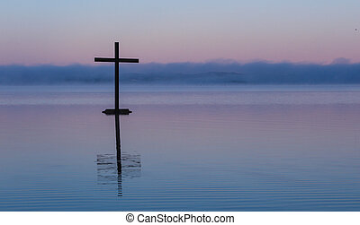 Mist Water Cross