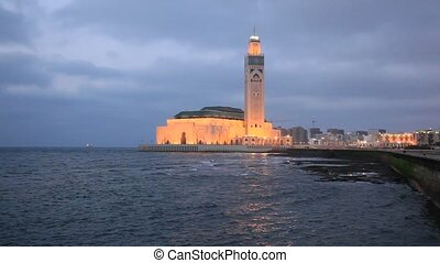 Mosque of Hassan II in Casablanca - Great Mosque of Hassan...