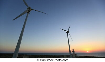 wind turbine 33 - wind turbines generating clean power with...