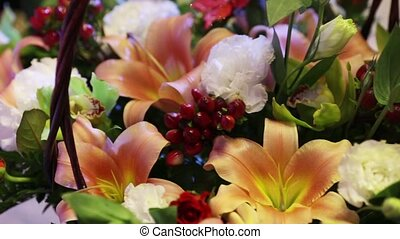Bouquets of flowers - Flower bouquets for gift baskets