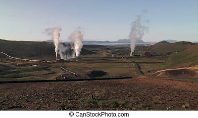 geothermal power plant in iceland - geothermal plant in...
