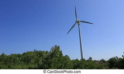 time lapse wind turbine 3
