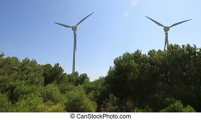 wind turbine 19 - wind turbines generating clean power in...