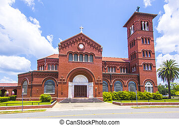 famous cathedral of the immaculate conception in Lake...