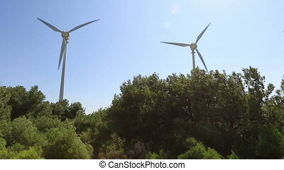 wind turbine 18 - wind turbines generating clean power in...