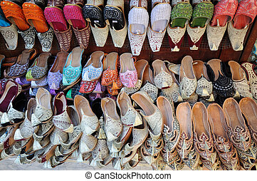 Traditional Arabic Shoes in Dubai, United Arab Emirates
