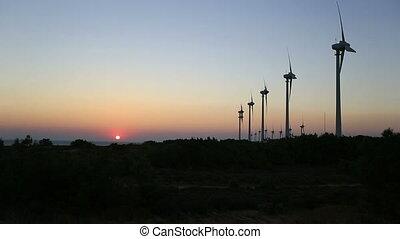 time lapse wind turbine 7