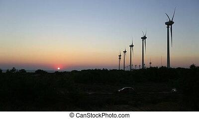 time lapse wind turbine 6
