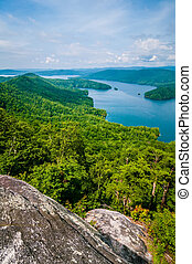 South Carolina Lake Jocassee Gorges Upstate Mountain -...