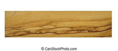 olive -european wood sample
