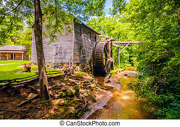 Hagood Mill Historic Site in south carolina - Hagood Mill...
